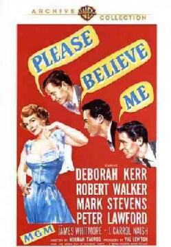 Please Believe Me (DVD)