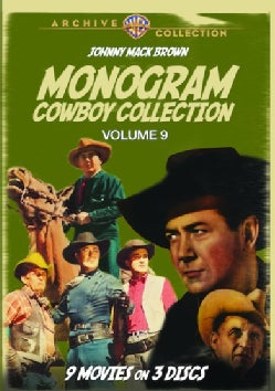 The Monogram Cowboy Collection: Vol. 9 (DVD)