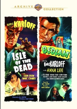 Isle Of The Dead/Bedlam (DVD)