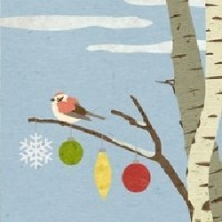 CROFTS FAMILY - SPARROW IN THE BIRCH