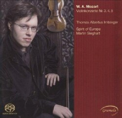 Thomas Irnberger - Mozart: Violin Concertos 3, 4 & 5
