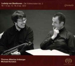 Thomas Albertus Irnberger - Beethoven: Sonatas for Violin: Vol. 2