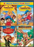 An American Tail: The Treasure Of Manhattan Island/An American Tail: The Mystery Of The Night Monster/The Tale Of Despe... (DVD)
