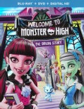 Monster High: Welcome To Monster High (Blu-ray/DVD)