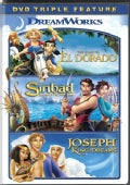 The Road To El Dorado/Sinbad: Legend Of The Seven Seas/Joseph: King Of Dreams (DVD)