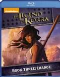 Legend Of Korra: Book Three: Change (Blu-ray Disc)