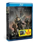 Halo BD 2-Pack: Forward Unto Dawn/Nightfall (Blu-ray Disc)