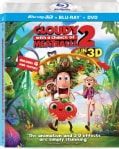 Cloudy with a Chance of Meatballs 2 3D (Blu-ray/DVD)