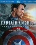 Captain America: The First Avenger 3D (Blu-ray/DVD)