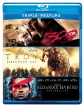 Alexander Revisited/Troy/300 (Blu-ray Disc)