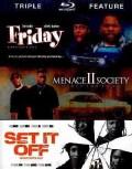 Friday/Menace II Society/Set It Off (Blu-ray Disc)