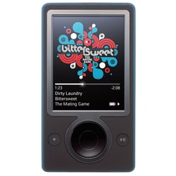 Microsoft Zune 30GB Media Player (Black) (Refurbished) | Overstock com  Shopping - The Best Deals on MP3 Players