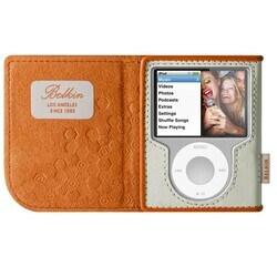 Belkin Leather Folio Case for iPod nano 3G