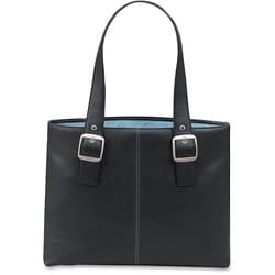 Solo Classic 16-inch Laptop Tote Bag w/Blue Interior Lining