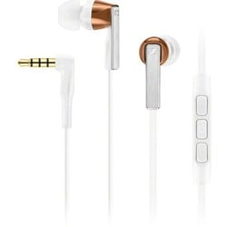 Sennheiser Earphones (Integrated Mic) CX 5.00i White