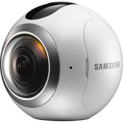 "Samsung Gear 360 Digital Camcorder - 0.5"" OLED - CMOS - 4K"