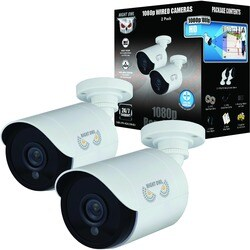 2 Pack Add-On 1080p HD Wired Security HD Cameras - White