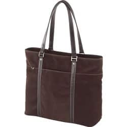 Mobile Edge - Chocolate Suede 14.1 Ultrabook or 15 MacBook Ultra Tote - Chocolate|https://ak1.ostkcdn.com/images/products//etilize/images/250/10505513.jpg?impolicy=medium
