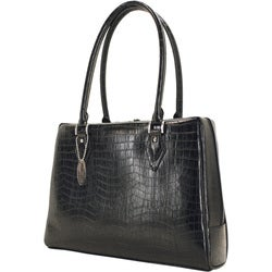 Mobile Edge Milano 17-inch Faux Croc Laptop Tote