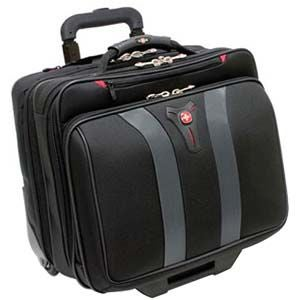 ARMY Wenger Granada Wheeled Notebook Case, Size Over 17 I...