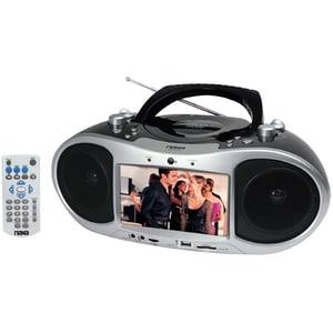 Naxa NX-252 AM/FM Stereo and 7-inch TFT LCD Screen Portable DVD Player