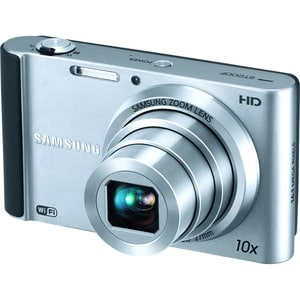 Samsung SMART ST200F 16.1MP Silver Digital Camera - Thumbnail 0