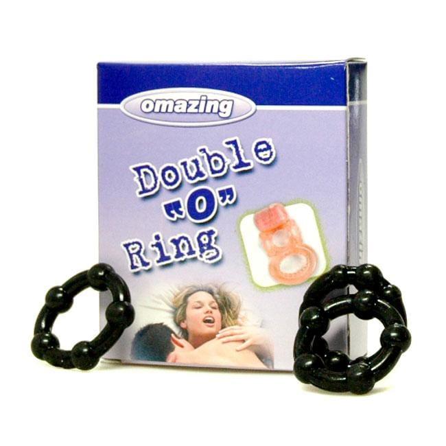 Omazing Double O Vibrating Ring