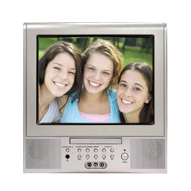 13-inch AC/ DC Color TV/ DVD Player