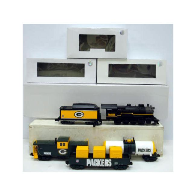 MTH Green Bay Packers Train Set
