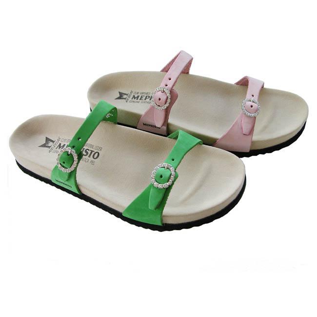 611571e037 Shop NEW Mephisto Sydel Womens Sandals Green US 8 EU 38 - Free ...
