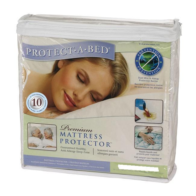 Protect-A-Bed Premium Olympic Queen Waterproof Mattress Protector