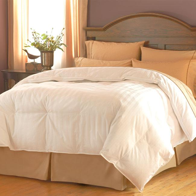 famous maker 500 thread count oversized white goose down twin size comforter free shipping. Black Bedroom Furniture Sets. Home Design Ideas