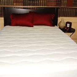 Elementa 600 Thread Count Egyptian Cotton Mattress Pad - Thumbnail 2