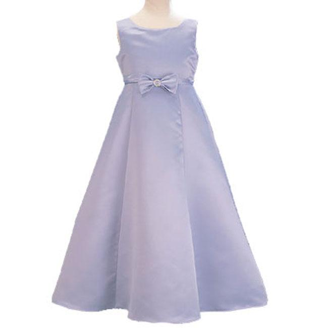 7da08b5978b Shop Sophia s Style Periwinkle Flower Girl Dress - Free Shipping On Orders  Over  45 - Overstock - 2968682