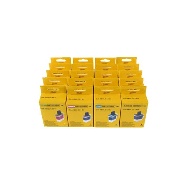 Brother Compatible LC41 Cartridge Combo (Pack of 20)