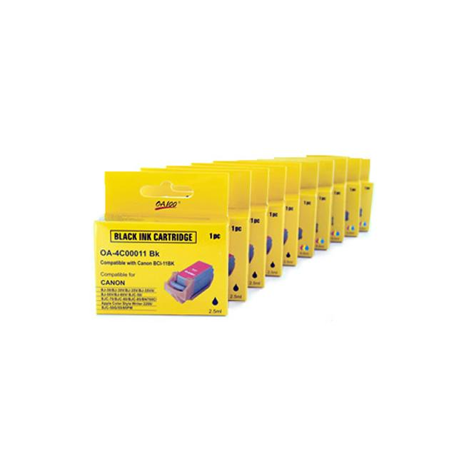 Canon BCI-11 Black and Color Ink Cartridges (Pack of 10)