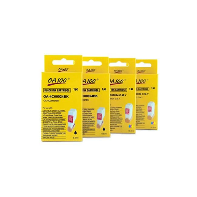 Canon BCI-21 Ink Cartridge Combo (Pack of 4) - Thumbnail 0