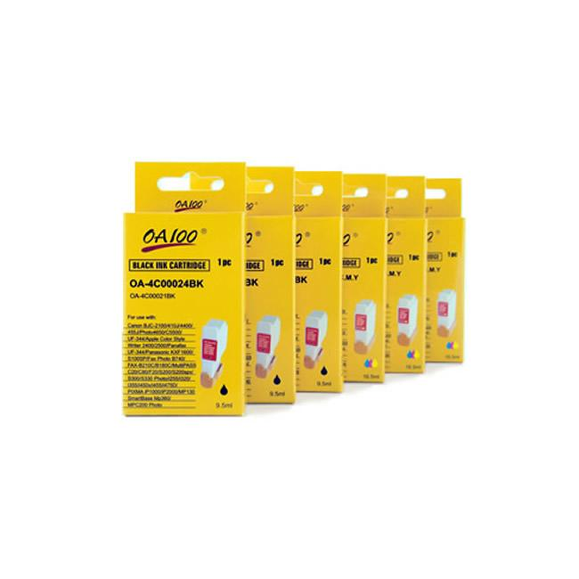 Ink Cartridge Combo for Canon BCI-24 (Pack of 6) - Thumbnail 0