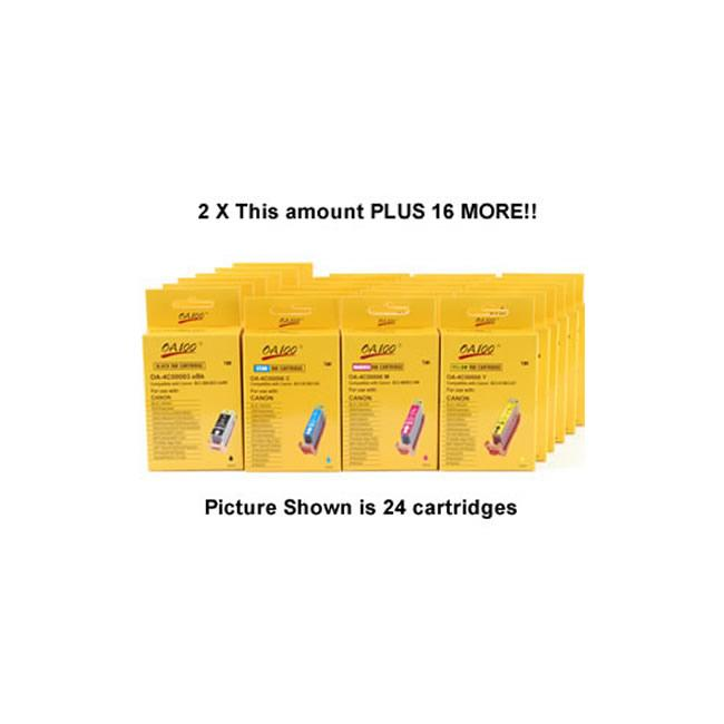Canon BCI Black and Color Ink Cartridges (Pack of 64)