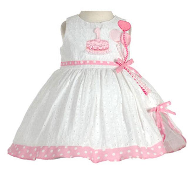 a03c18679186d Rare Editions Boutique Infant First Birthday Dress