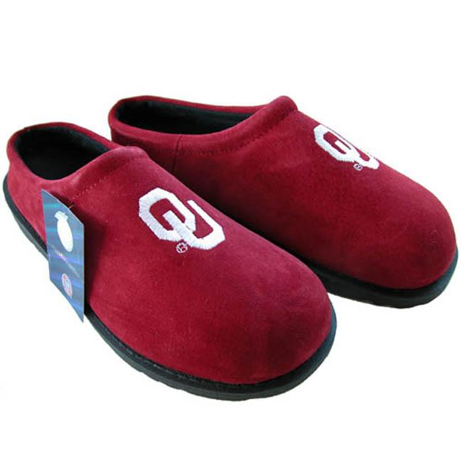 Shop Hush Puppies Men s NCAA Oklahoma Sooners Slippers - Free Shipping On  Orders Over  45 - Overstock - 3478769 ea44bbf53