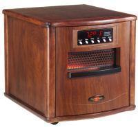 Comfort Zone Electric Portable Space Infrared 1500-watt Heater