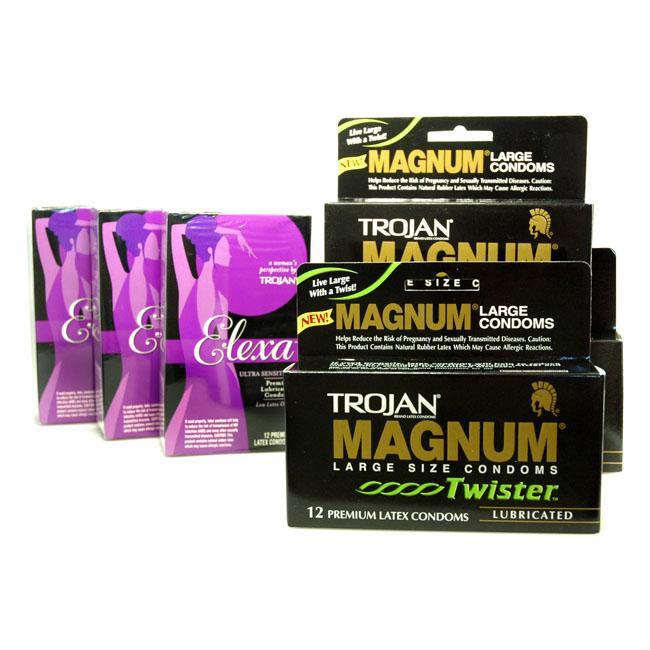 Trojan magnum twister condoms