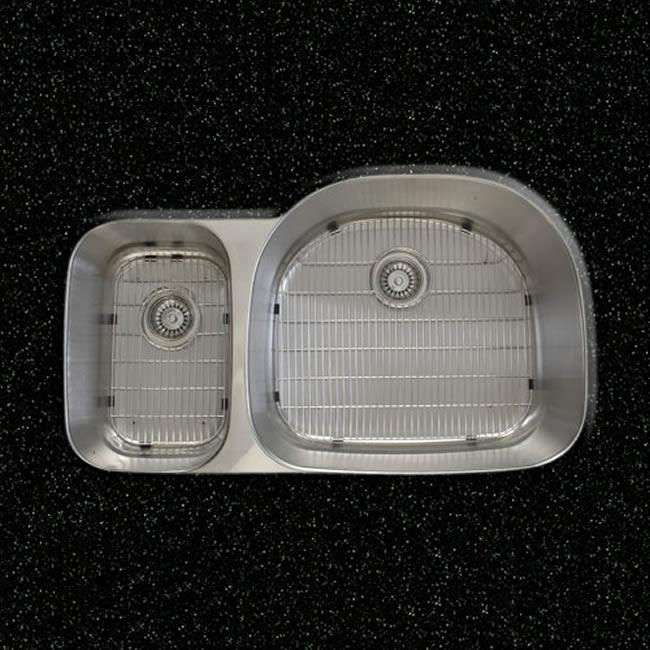 Italian Designed Stainless Steel Double Bowl Kitchen Sink