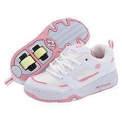 heelys rebel youth white pink shoes free