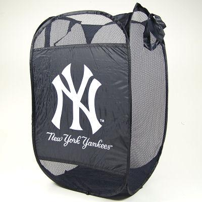 New York Yankees Portable Pop-up Laundry Hamper