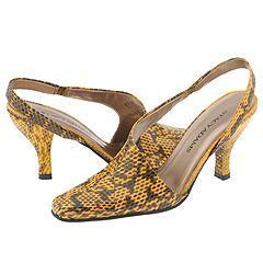 Stacy Adams Carlita Yellow Genuine Snake