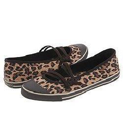 skechers leopard wild canvas shoes