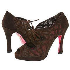 Betsey Johnson Whisper Brown Suede(Size 8 M)