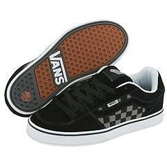 ccb4246a54 Shop Vans Bucky Lasek 4 Black Gargoyle Checkerboard - Free Shipping ...